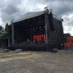 Soundcheck för Rock 'n' Roll on tour på Bandyscenen