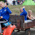 Matservering på campingen! Foto: Roger Persson