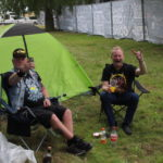 Glada campinggäster! Foto: Andreas Hügard