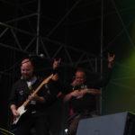 Helgeå-Crew på scenen med Syd/Ekman. Foto: Andreas Hügard