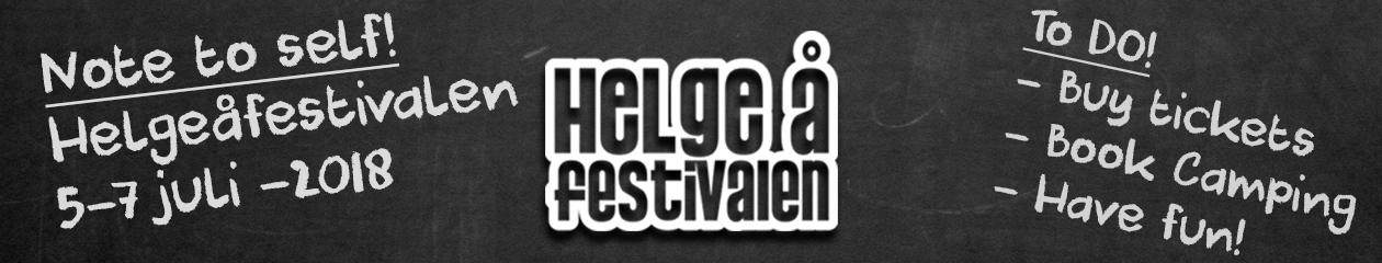 Helgeåfestivalen – Sveriges mysigaste festival, 5-7 juli 2018