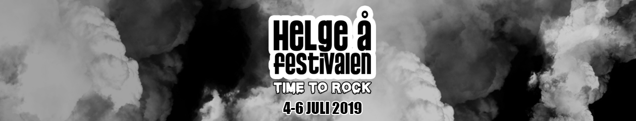 Helgeåfestivalen – 4-6 juli 2019 – Time To Rock